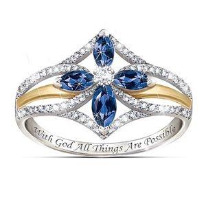 "The Bradford Exchange ""Promise of Faith"" Ring"